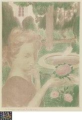 Le bouquet matinal, les larmes ..., uit de reeks Amour
