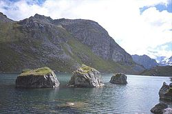 Lac de Louvie -