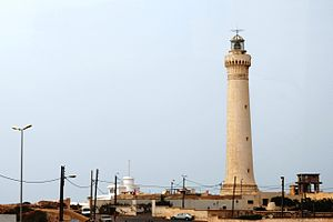 Albert Laprade - El Hank lighthouse, Casablanca, which Laprade and Prost designed in 1916.