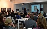 Lecture of Milena Dragicevic Sesic in Minsk 5.02.2015 08.JPG