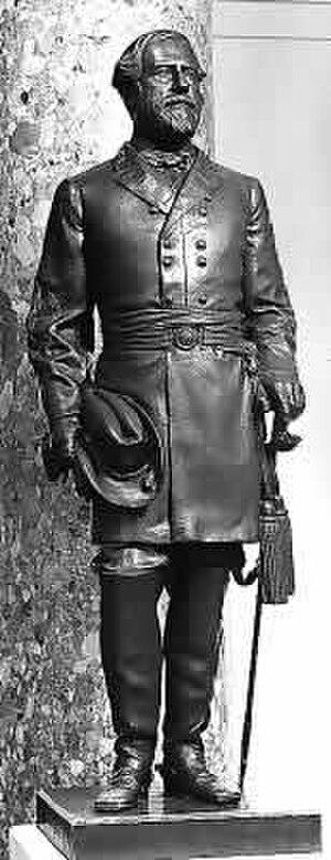 Robert E. Lee (Valentine) - The statue