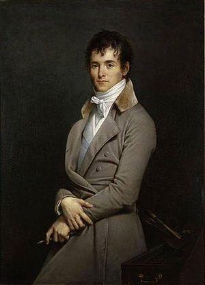 Pierre-Narcisse Guérin - Portrait of Guérin by Robert Lefèvre, 1801