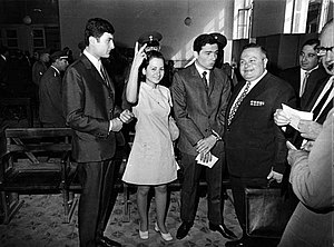 Leila Khaled - Leila Khaled in Damascus after her release from the United Kingdom in 1970