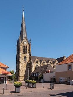 Lengerich, die Sankt Benedict Kirche IMG 7190 2020-08-07 12.37.jpg