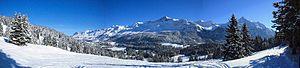 Western Rhaetian Alps - Plessur Range panorama