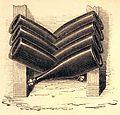 """Les merveilles de l'industrie, 1873 """"Bouteilles de Champagne mises en treilles"""". (4305566801).jpg"""