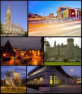 Letterkenny Place in Ulster, Ireland