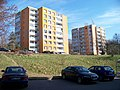 Libeň, U Stírky, věžáky v ulici Rozšířená.jpg