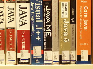 Library of Congress Classification - Java programming books in the QA subclass.
