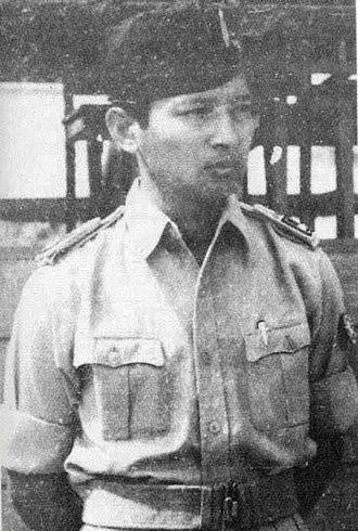 Suharto - Lieutenant Colonel Suharto in 1947.