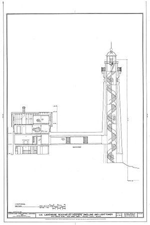 South Manitou Island - South Manitou Island Light Blueprint