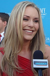 Vonn in April 2010