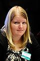 Lisbeth Sejer Gotzsche president Ungdomens Nordiska Rad vid Nordiska radets session i Helsingfors 2008-10-27.jpg