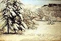Lisbon, museum Nacional de Arte Antiga, Gustave Courbet, landscape in the winter.JPG