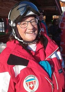 Lise-Marie Morerod Swiss alpine skier