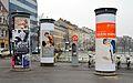 Litfaß-columns at Längenfeldgasse, Vienna.jpg