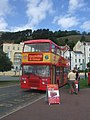 Llandudno and Conwy Open Top Bus - geograph.org.uk - 2566045.jpg