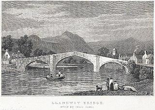 Llanrwst bridge: built by Inigo Jones