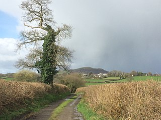 village in Carmarthenshire, Wales