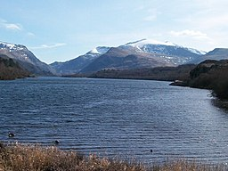 Llyn Padarn from Penllyn on a March day - geograph.org.uk - 1768452.jpg
