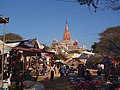 Local Market in Front of Ananda Temple - 2014.01 - panoramio.jpg