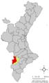 Localització de Villena respecte el País Valencià.png