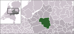 Location of Apeldoorn