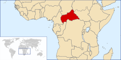 the Central African Republic की स्थिति