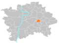 Location map municipal district Prague - Štěrboholy.PNG