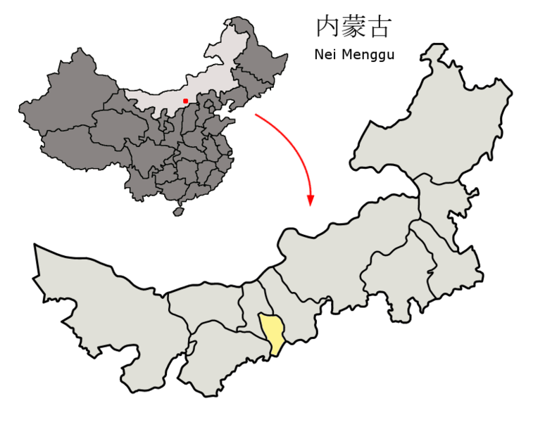 File:Location of Hohhot Prefecture within Inner Mongolia (China).png