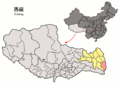 Location of Markam within Xizang (China).png