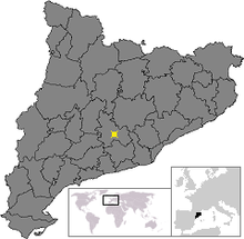 Location of Vilanova del Cami.png
