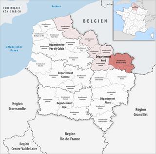 Arrondissement of Avesnes-sur-Helpe Arrondissement in Hauts-de-France, France
