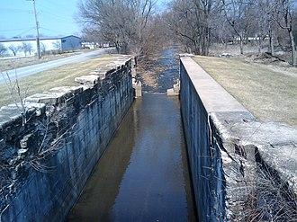 Lockport, Illinois - Image: Lock Number 1 Lockport IL