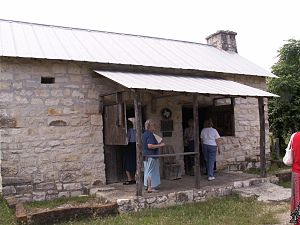 Fort Croghan - House built by Logan Vandeveer for his father, William.