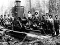Logging crew and donkey engine, probably Pacific Northwest, nd (INDOCC 450).jpg