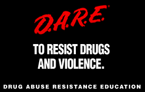 Drug Abuse Resistance Education - DARE logo