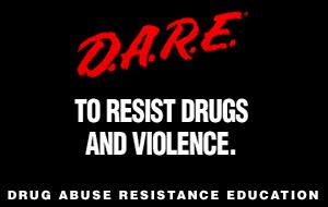 Drug Abuse Resistance Education - DARE logo