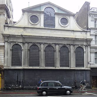 St Peter upon Cornhill - From Gracechurch street