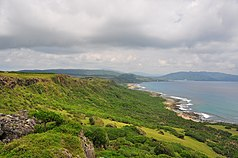 Looking north along coastline from Longpan.jpg