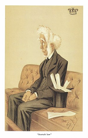 Duncan McNeill, 1st Baron Colonsay - Image: Lord Colonsay Vanity Fair 13 September 1873