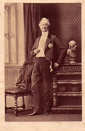 Ulysses Burgh, 2nd Baron Downes - Lord Downes in 1850.