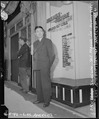 Los Angeles, California. Tokutaro Slocum in front of the Japanese American Citizens League headquar . . . - NARA - 536805.tif