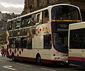 Lothian Buses bus Volvo Wrightbus Harlequin livery September 2007.jpg