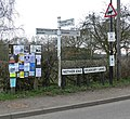 Lots of signs and notices - geograph.org.uk - 1246355.jpg