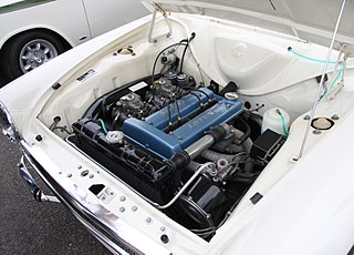 Lotus-Ford Twin Cam Motor vehicle engine