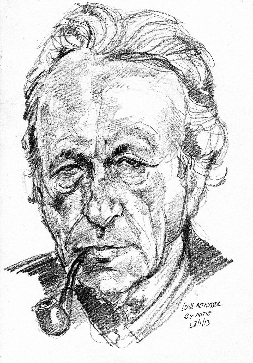 Louis Althusser sketch (8420987781)