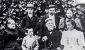 Louis Pasteur, René Vallery-Radot and their families.png