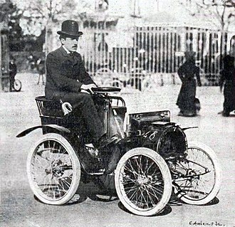 Renault - Louis Renault in 1903