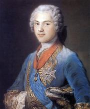 File:Louis de France, dauphin (1745) by Maurice Quentin de La Tour.png